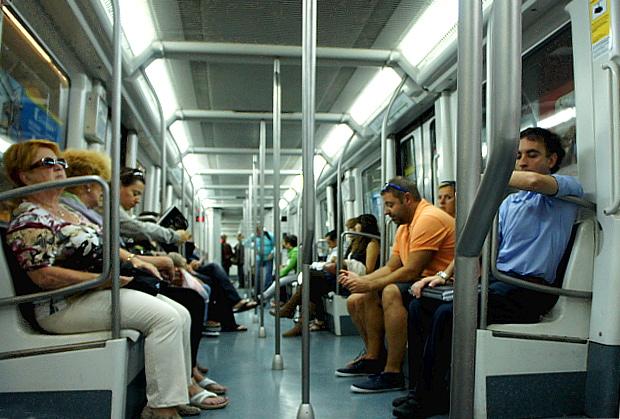 Metro Barcelona 2013 © Copyright by PANORAMO Bild lizensieren: briefe@panoramo.de