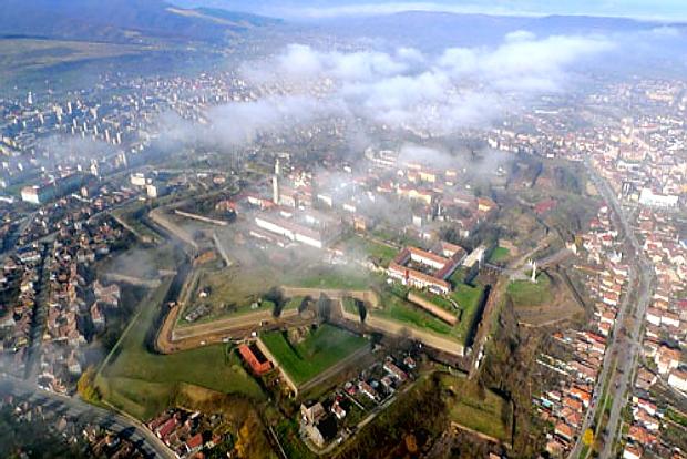 siebeneckige Festungsstadt Alba Iulia ( Karlsburg )