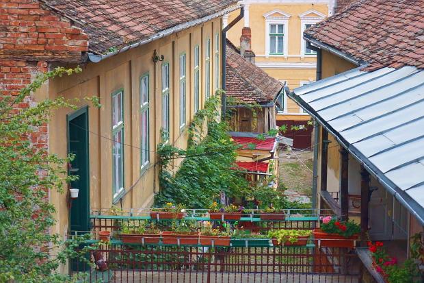 Sibiu ( Hermannstadt ) © Copyright Karl-Heinz Hänel Bild lizensieren: briefe@panoramo.de