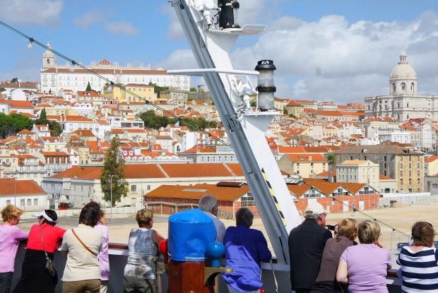 Kreuzfahrer-Ziel Lissabon © Copyright PANORAMO Bild lizensieren: briefe@panoramo.de
