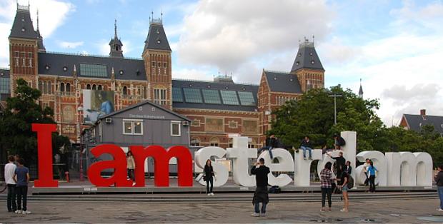 Amsterdamm © Copyright Winfried Dulisch