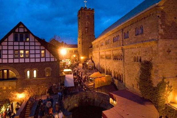 Wartburg Weihnachtsmarkt Thüringer Tourismus GmbH