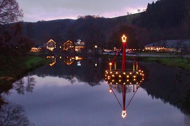 Weihnachtskrippendorf Waldbreitbach im  Westerwald