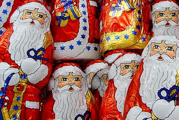 Weihnachtsmänner © Copyright PANORAMO Bild lizensieren: briefe@panoramo.de