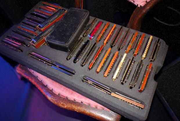 Mundharmonikas von Marc Breitfelder © Copyright PANORAMO Bild lizensieren: briefe@panoramo.de
