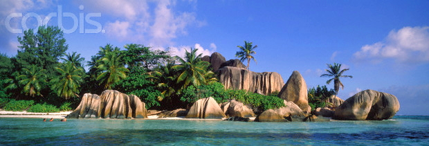 La Digue Seychellen © Copyright Karl Heinz Haenel and CorbisImages 42-15347943