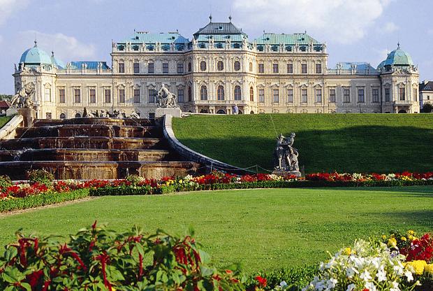 Schloss Belvedere beim Lindner Hotel Wien  © Copyright by Lindner Hotel Gruppe