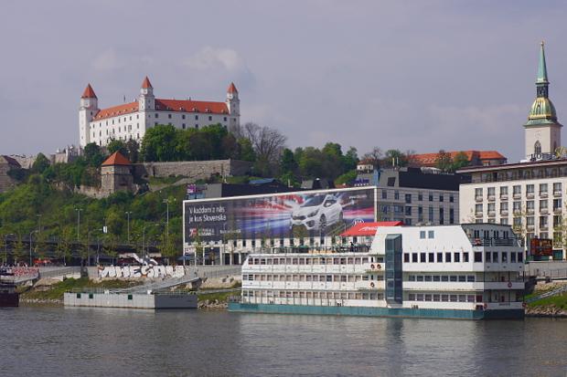Pressburg über Bratislava © Copyright by PANORAMO Bild lizensieren: briefe@panoramo.de