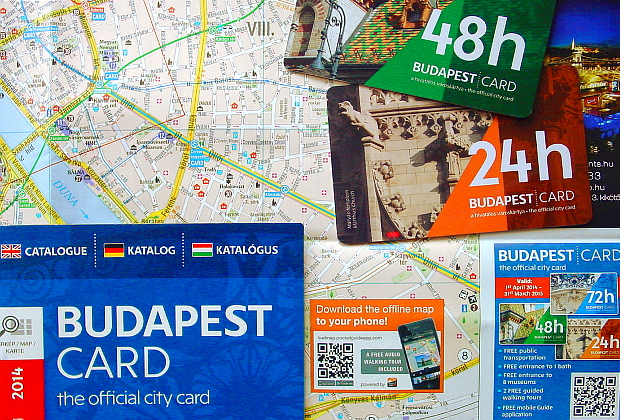 Budapest Card © Copyright by PANORAMO Bild lizensieren: briefe@panoramo.de