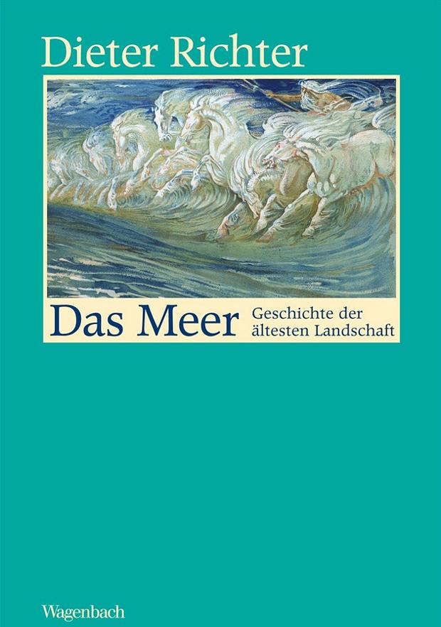 Das Meer © Copyright by Wagenbach Verlag:  Poseidons Pferde von Walter Crane