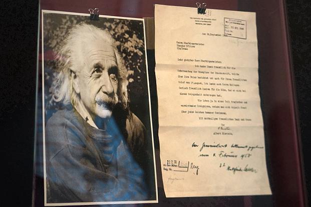 Albert Einstein Ulm © Copyright by PANORAMO Bild lizensieren: briefe@panoramo.de