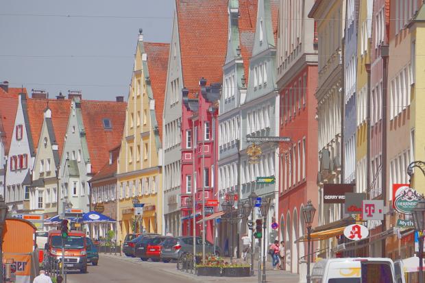 Reichsstraße in Donauwoerth © Copyright by PANORAMO Bild lizensieren: briefe@panoramo.de