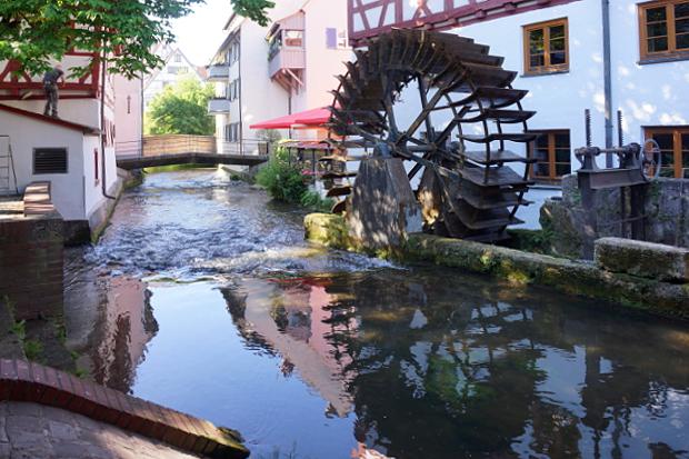 im Fischer Viertel von Ulm © Copyright by PANORAMO Bild lizensieren: briefe@panoramo.de