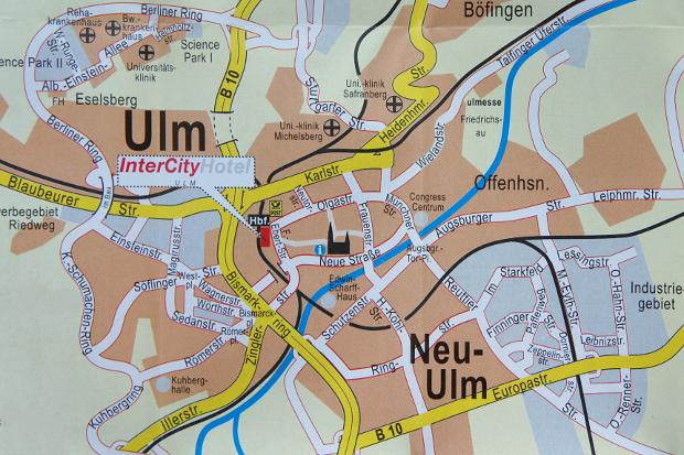 InterCityHotel-Service Ulm © Copyright by PANORAMO Bild lizensieren: briefe@panoramo.de