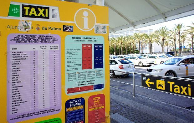 Taxi vom Airport Malorca