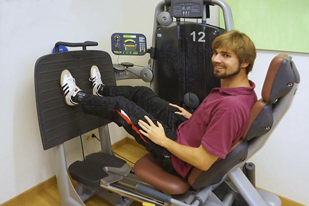 Personal-Trainer Torsten Stappen hat seinen Bachelor in Fitnessökonomie © Copyright by PANORAMO Bild lizensieren: briefe@panoramo.de