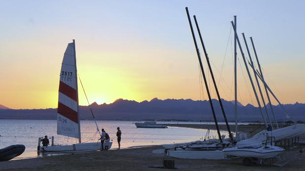 Abendhimmel Robinson Soma Bay Ägypten © Copyright by PANORAMO Bild lizensieren: briefe@panoramo.de