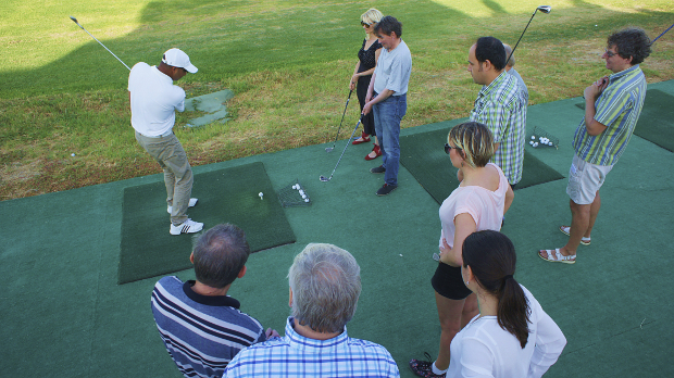 Golftrainer Hohamed Kahoul Soma Bay Ägypten © Copyright by PANORAMO Bild lizensieren: briefe@panoramo.de