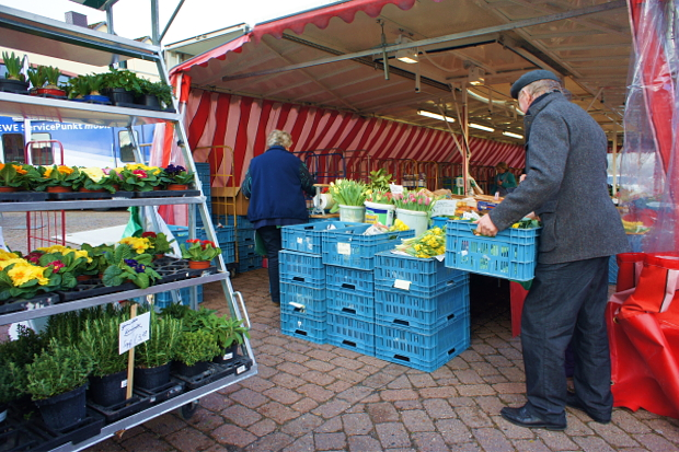 Wochenmarkt in Bad Bederkesa © Copyright by PANORAMO