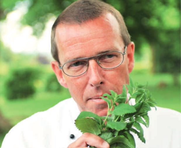 Klaus Manke bevorzugt regionale Produkte für die Küche des Bösehof