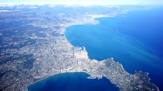 Nizza am Mittelmeer © Copyright by PANORAMO