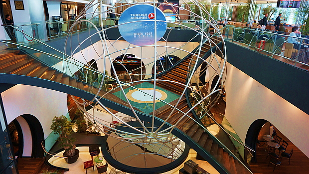 "<a href=""http://www.turkishairlines.com/de-de/"" target=""_blank"">Turkish Airlines</a> Lounge Airport Istanbul © Copyright by PANORAMO Bild lizensieren: briefe@panoramo.de"