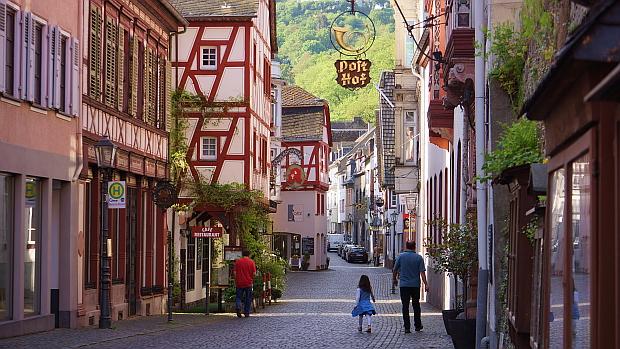 Welterbestätte Bacharach am Rhein © Copyright by PANORAMO Bild lizensieren: briefe@panoramo.de