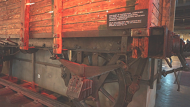 Original Waggon im Nationamuseum von Tbilissi / Tiflis in Georgien © Copyright by PANORAMO