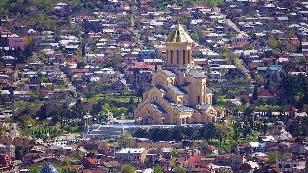 Die Neue Kathedrale von Tbilisi © Copyright by PANORAMO.de