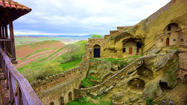 Höhlenklöster Dawit Garedscha Kachetien - Georgien © Copyright by PANORAMO.de