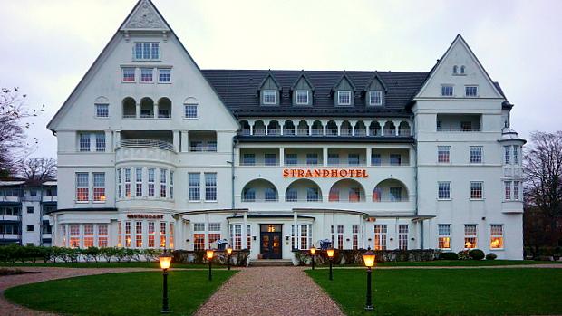 Strandhotel Glücksburg © Copyright by PANORAMO.de