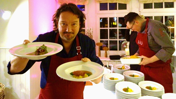 Sternekoch Kolja Kleeberg macht leichte Kost © Copyright by PANORAMO.de