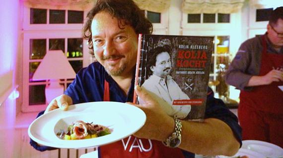 Sternekoch Kolja Kleeberg präsentiert dein Kochbuch © Copyright by PANORAMO.de