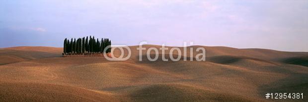 Das November-Motiv im Panorama-Kalender mit den Traumlandschaften Toskana © Copyright by fotolia Karl-Heinz Hänel