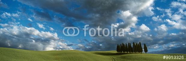 Das Juli-Motiv im Panorama-Kalender mit den Traumlandschaften Toskana © Copyright by fotolia Karl-Heinz Hänel