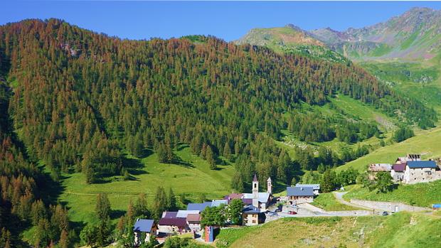 Ferrere im Stura Tal, Piemont © Copyright by Karl-Heinz