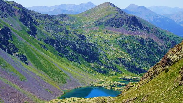 Seen: laghi di Vens, 2.380 m, Piemont © Copyright by Karl-Heinz Hänel