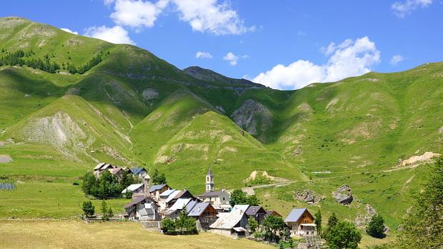 zurück in Ferrere im Stura Tal, Piemont © Copyright by Karl-Heinz Hänel