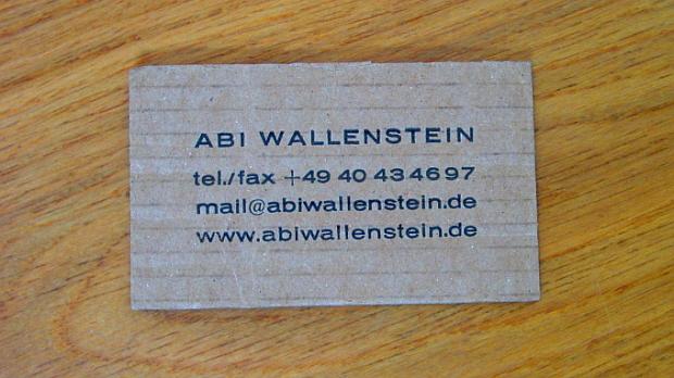 Abi Wallenstein © Copyright by Karl-Heinz Hänel