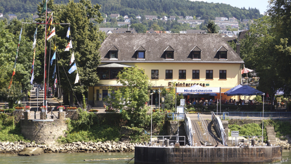 - mit der Flora von A-Rosa auf dem Rhein Foto © Copyright Karl-Heinz Haenel