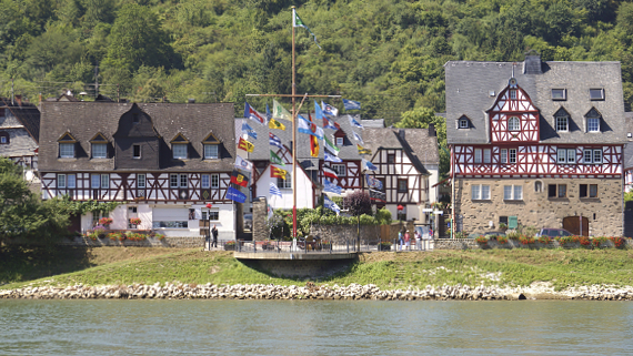 Spay am Rhein Foto © Copyright Karl-Heinz Haenel