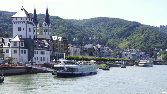 Boppard am Rhein Foto © Copyright Karl-Heinz Haenel