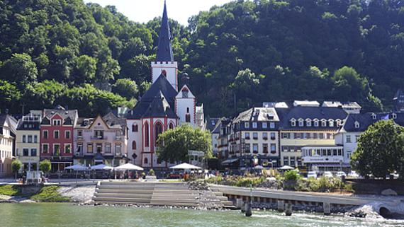 St. Goar am Rhein Foto © Copyright Karl-Heinz Haenel
