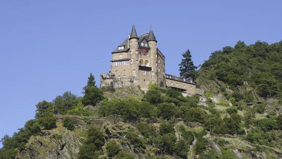 Burg Katz Foto © Copyright Karl-Heinz Haenel