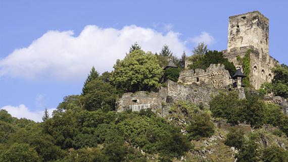 Burg Gutenfels Foto © Copyright Karl-Heinz Haenel