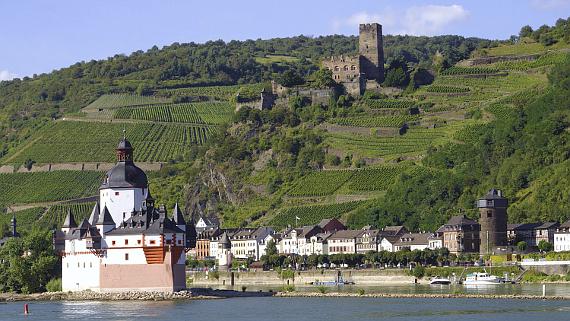 Burg Pfalz im Rhein Foto © Copyright Karl-Heinz Haenel