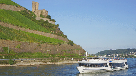 Ruine Ehrenfels am Rhein Foto © Copyright Karl-Heinz Haenel