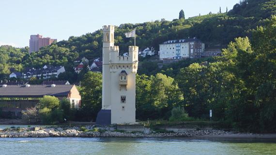 Mäuseturm bei Bingen am Rhein Foto © Copyright Karl-Heinz Haenel