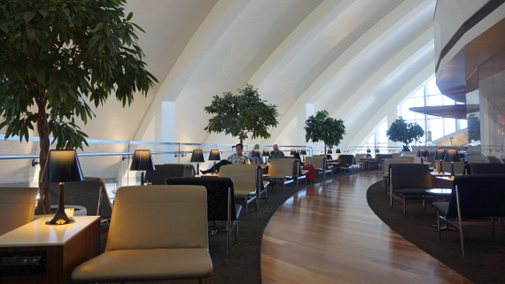 Lounge im Terminal 2 LAX 2017 Foto © Copyright Karl-Heinz Haenel