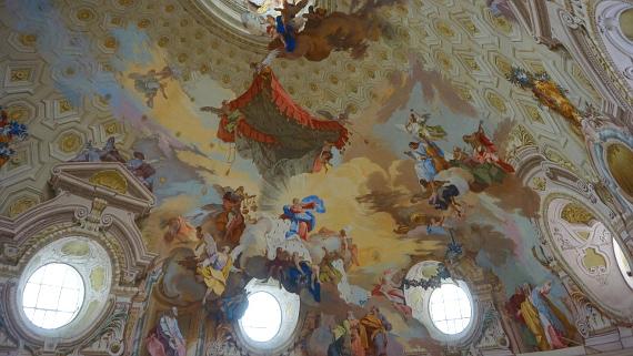 Basilica von Vicoforte Piemont Foto © Copyright Karl-Heinz Hänel